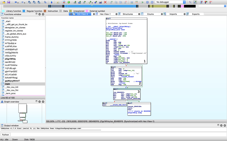 Analysing the worst ransomware – part 1   BitsDeep